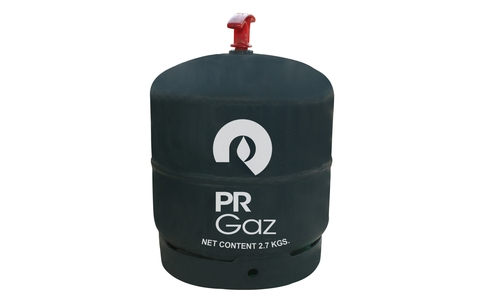 2.7kg LPG <br><br> Ideal for outdoor use and suited for cooking needs of small families.